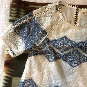 Beautiful Lace Overlay Dress